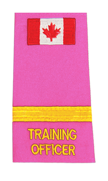 Training Officer 1 Braid Slip-On with Canadian Flag-Derks Uniforms