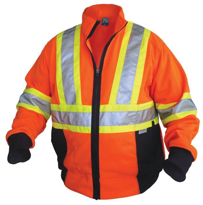 Hi-Vis Hooded Jacket-ProJob