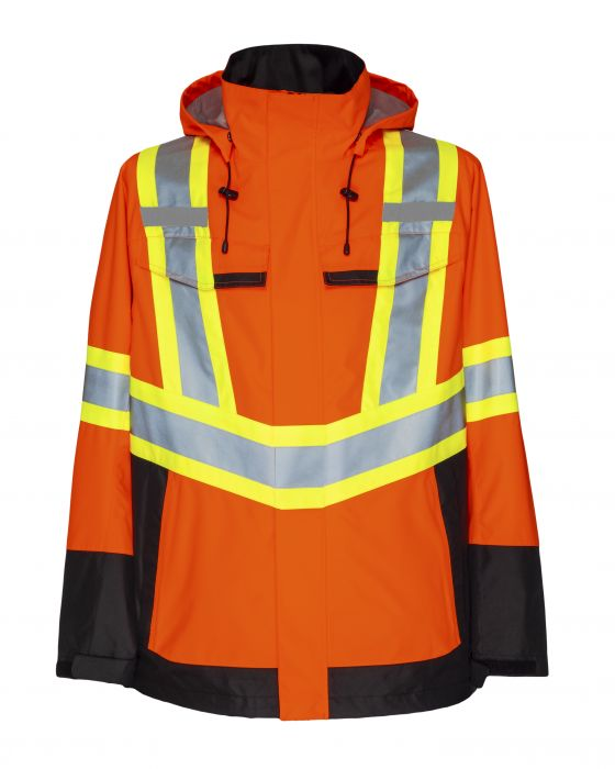 Hi-Vis Waterproof Jacket-ProJob