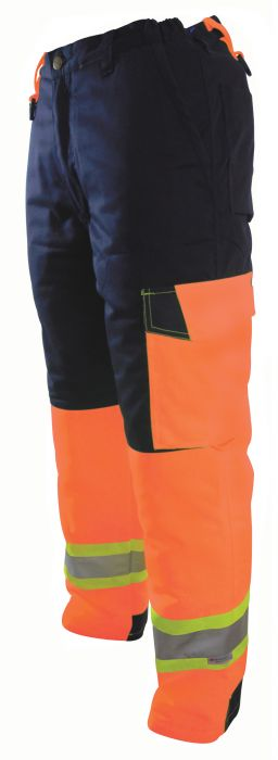 Hi-Vis Mid-Weight Insulated Pants-ProJob