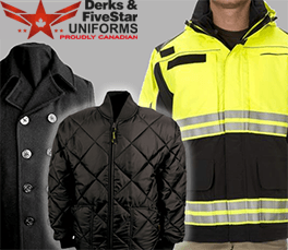 Derks Uniforms Outerwear