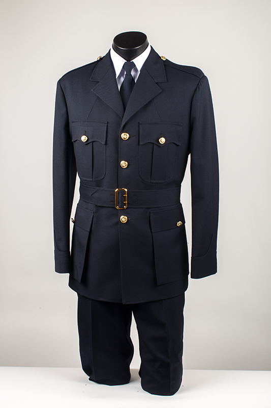 Custom Working Tunic With Belt And Pants-Derks Uniforms