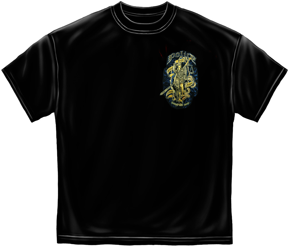 Police Protect And Serve T-Shirt-
