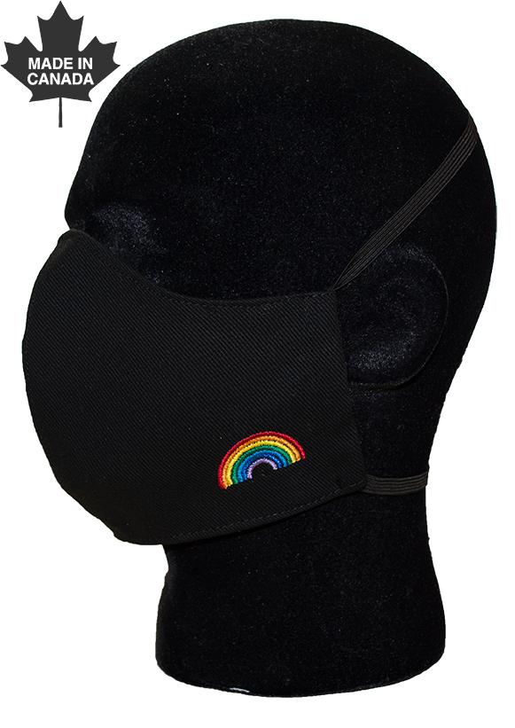 Rainbow Face Mask-
