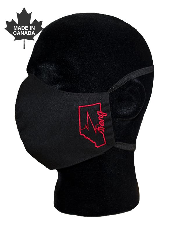 Alberta Strong Face Mask-Derks Uniforms