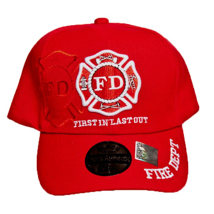 Red Badge Cap-