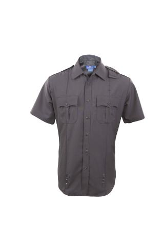 Women's Short-Sleeve Duty Shirt - Poly Wool (Hidden Zipper)-Spiewak