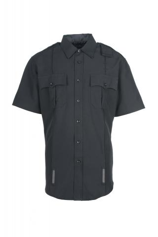 Women's Short-Sleeve Duty Shirt - Poly Sorbtek (Zipper & Mic Port)-Spiewak