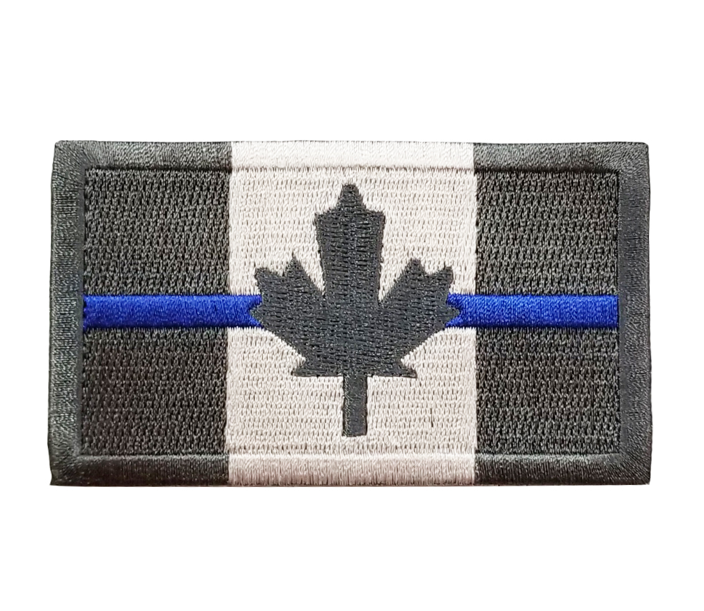 Thin Red Line Canada Velcro Patch-Derks Uniforms
