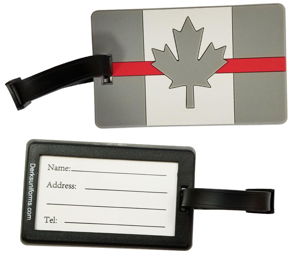 Thin Red Line Canada Luggage Tag-Derks Uniforms