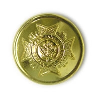 CAFC Button Small Gold-
