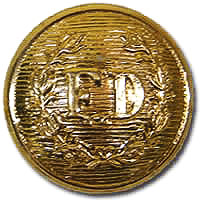 FD Large Gold Button-Derks Uniforms