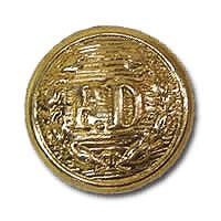 FD Button Small Gold-Derks Uniforms