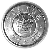 POLICE Button Large Silver-