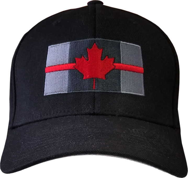 Thin Red Line Cap-