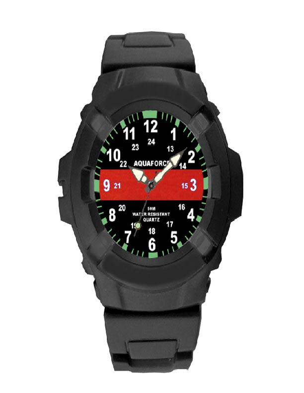 Thin Red Line Watch-