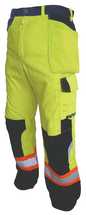 FR Multi-Pocket Hi-Vis Pants-