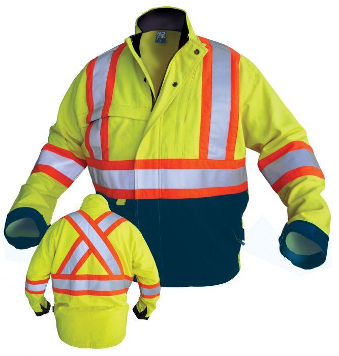 FR Hi-Vis Insulated Jacket-ProJob