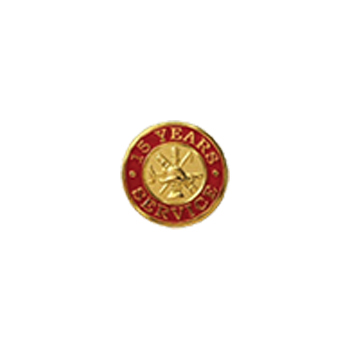 15 Year Service Pin-