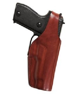 Model 19L Thumbsnap Suede Lined Belt Slide Holster-Bianchi