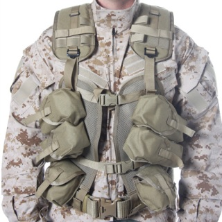 Enhanced Soldier Load Bearing Vest-Blackhawk