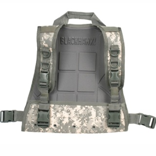 S.T.R.I.K.E. Commando Recon Plate Carrier-Back Only-Blackhawk