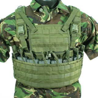 Enhanced Commando Recon Chest Harness-Blackhawk