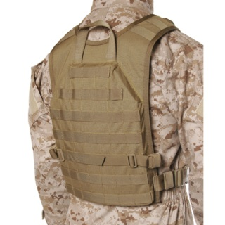 37CL Lightweight Commando Recon Back Panel-Blackhawk