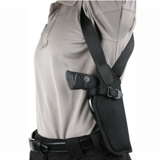 Vertical Shoulder Holster Scoped-
