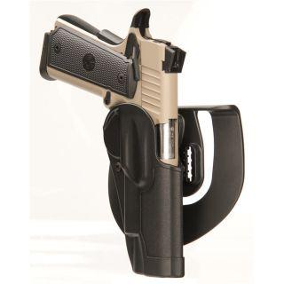 Std Cqc Hlstr Mt Fn-R Colt 1911 Cmdr/Clones W, w/O Std Rail-Blackhawk