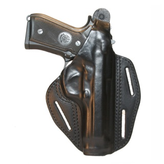 3-Slot Leather Pancake Concealment Holster