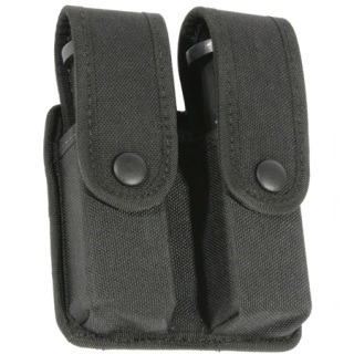 Blackhawk Duty Gear Traditional Nylon Divided Double Mag Case With Inserts - Double Row-Blackhawk