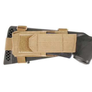 Buttstock Mag Pouch With Adjustable Lid-