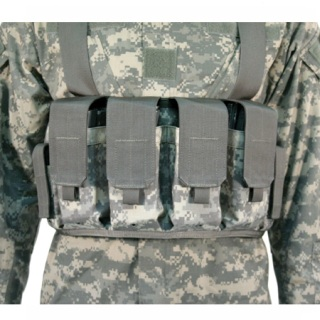 Chest Pouches M16/M4 (Holds 4 mags & 2 pistol mags)-Blackhawk