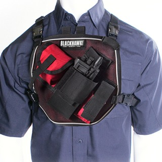 U.S.A.R. Radio Chest Harness-Blackhawk