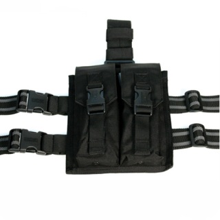 Blackhawk Thigh Rigs Drop Leg Pouches Omega Elite M16 Mag Pouch (Holds 2)-Blackhawk