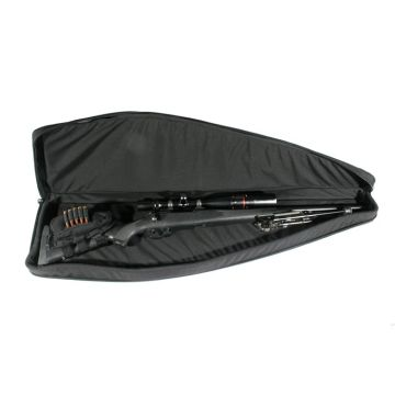 "Scoped Rifle Case 51"" Black-(50 X 2.5 X 11)-"