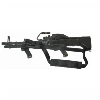 Machine Gun Sling w/ Pad Black-