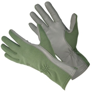 AVIATOR Fire Resistant Flight Ops Gloves with NOMEX
