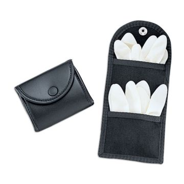 Latex Glove Pouch Single Snap Close-