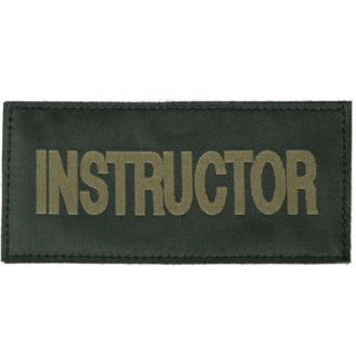 Instructor Patch-Blackhawk
