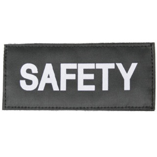 Safety Patch-Blackhawk
