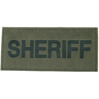 Sheriff Patch-Blackhawk