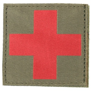 Red Cross ID Patch-Blackhawk
