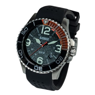 Deep Sea Operator Watch Stainless Case