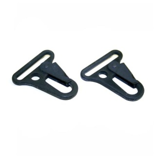 "Metal 1"" Heavyduty Snaphook - Set Of 2 - ""Alligator Claw""-"