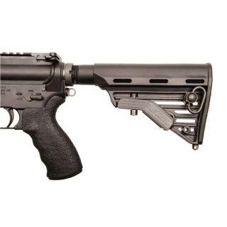 Adj Comm AR/M4 Buttstock Black Polymer 5 Position-Blackhawk