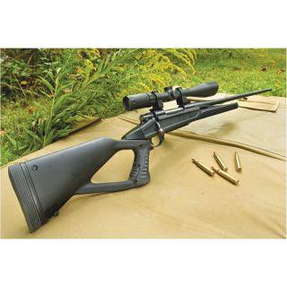 Axiom TH Rifle Stock Rem700 SA BDL Blk Polymer Full float-Blackhawk