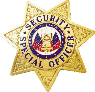 Security Special Officer Badge-