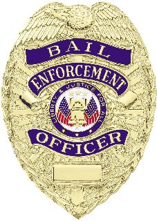A-9379 Bail Enforcement Badge